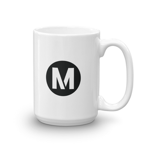A Line Mug - Los Angeles Metro Shop