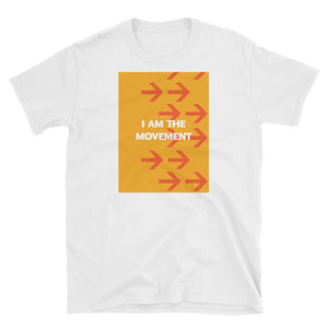I Am the Movement Tee (White) - Los Angeles Metro Shop