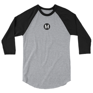 Metro 3/4 Baseball Sleeve - Los Angeles Metro Shop