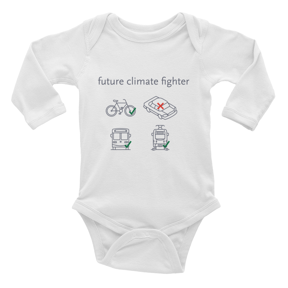 Future Climate Fighter Baby Rib Bodysuit - Metro Shop