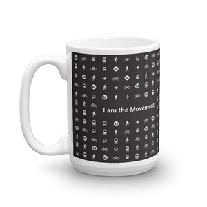 I Am the Movement Mug - Los Angeles Metro Shop