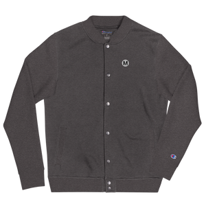 Metro Embroidered Champion Bomber Jacket - Metro Shop