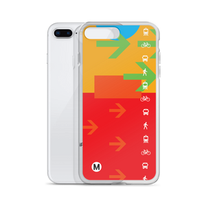 The Movement iPhone Case - Los Angeles Metro Shop