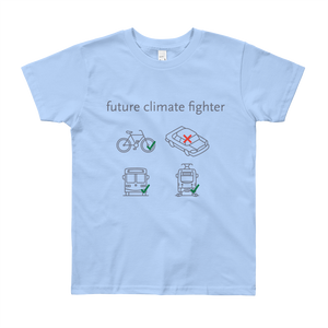 Future Climate Fighter Kid T-Shirt - Los Angeles Metro Shop