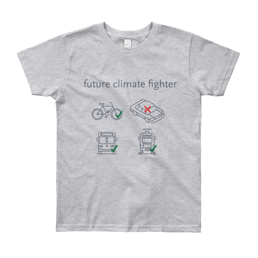 Future Climate Fighter Kid T-Shirt - Metro Shop