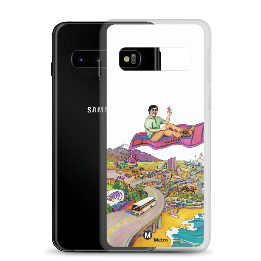RTD Pleasure Fare Samsung Case - Los Angeles Metro Shop