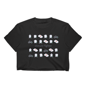Climate Fighter Cropped T-Shirt - Los Angeles Metro Shop