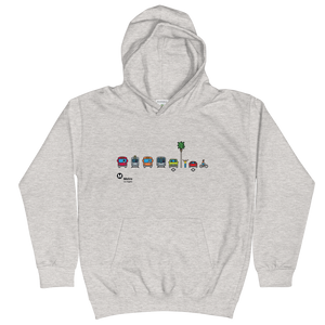 Metro Multimodal Kids Hoodie - Los Angeles Metro Shop