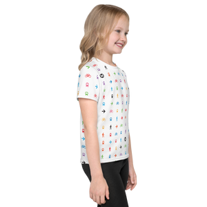 I Am the Movement Iconic Pattern Kids T-Shirt - Metro Shop