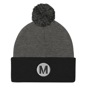 Metro Pom Pom Knit Cap - Los Angeles Metro Shop