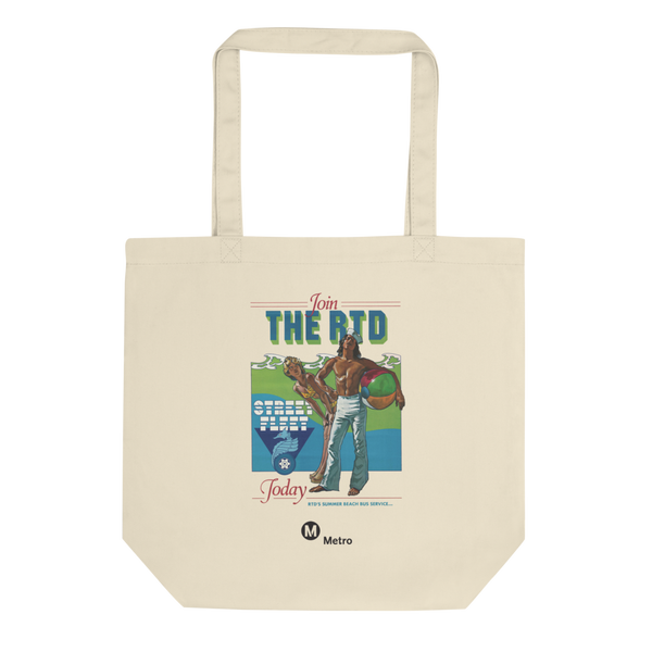 RTD Street Fleet Eco Tote Bag - Metro Shop