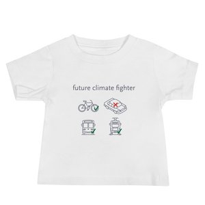 Future Climate Fighter Baby T-Shirt - Los Angeles Metro Shop