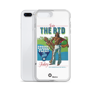 RTD Vintage iPhone Case - Los Angeles Metro Shop