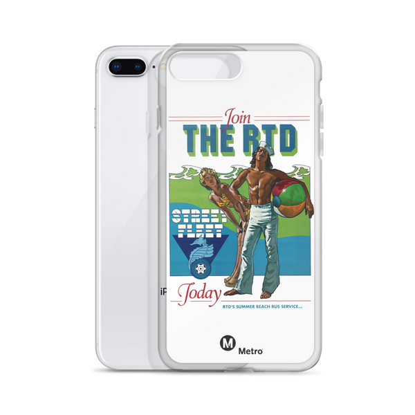 RTD Street Fleet iPhone Case - Los Angeles Metro Shop
