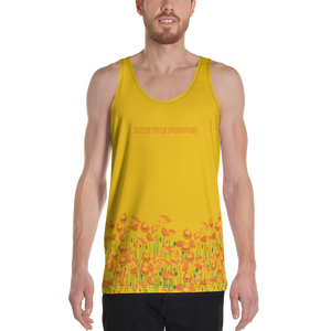 Save the Poppies Tank Top - Los Angeles Metro Shop