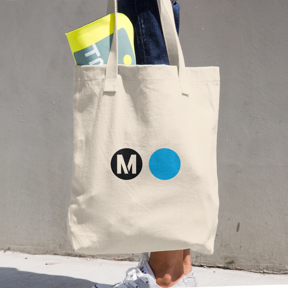 Metro Expo Line Tote Bag (Cotton)