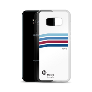 Blue Line Vintage Samsung Case - Los Angeles Metro Shop