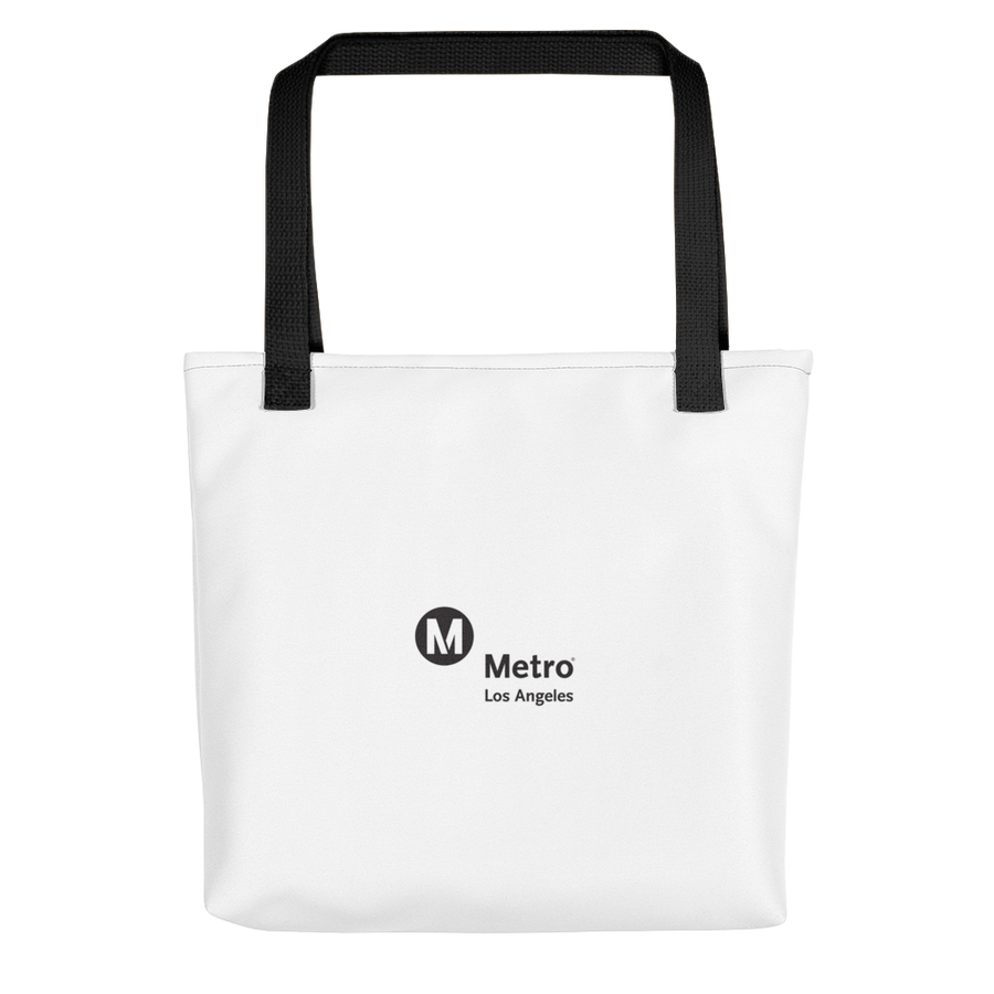 Go Metro Map Tote Bag - Los Angeles Metro Shop