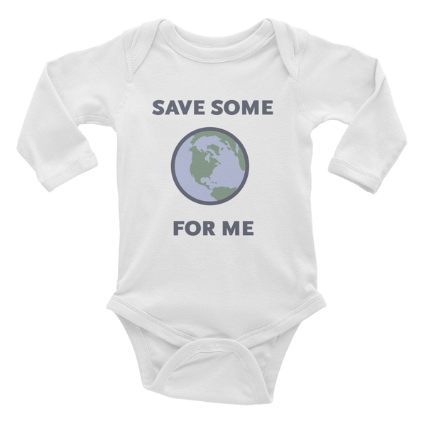Save Some For Me Baby Rib Bodysuit - Metro Shop