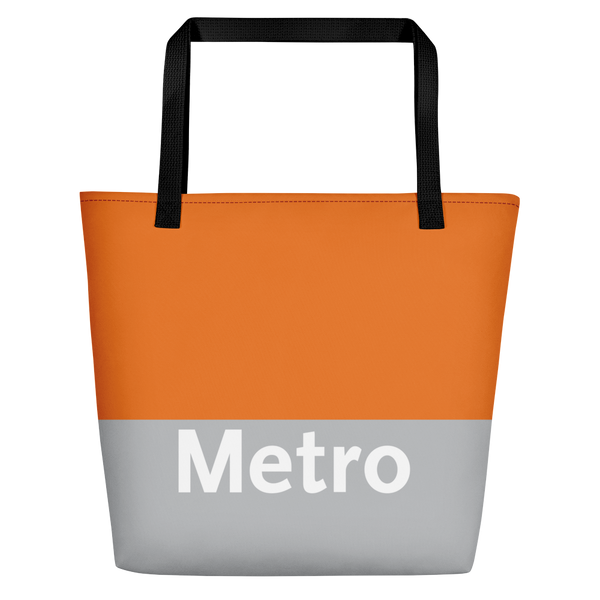 Metro Local Beach Bag - Los Angeles Metro Shop