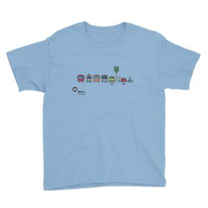 Metro Multimodal Icon Kids T-Shirt - Los Angeles Metro Shop