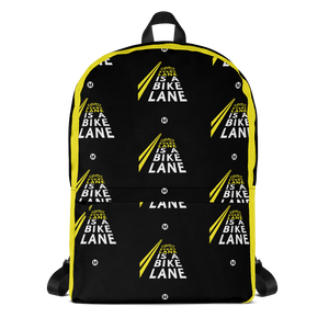 Every Lane Is A Bike Lane Backpack