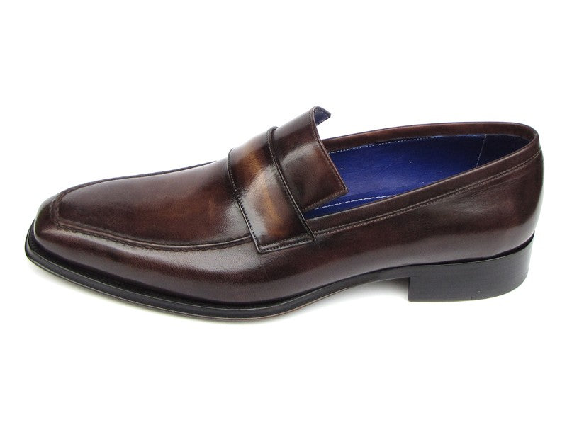Paul Parkman Men's Loafer Bronze Shoes (ID#012-BRNZ) - mroutfit