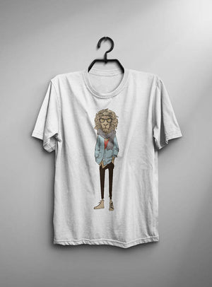Sharp Lion Fashion T-Shirt - mroutfit