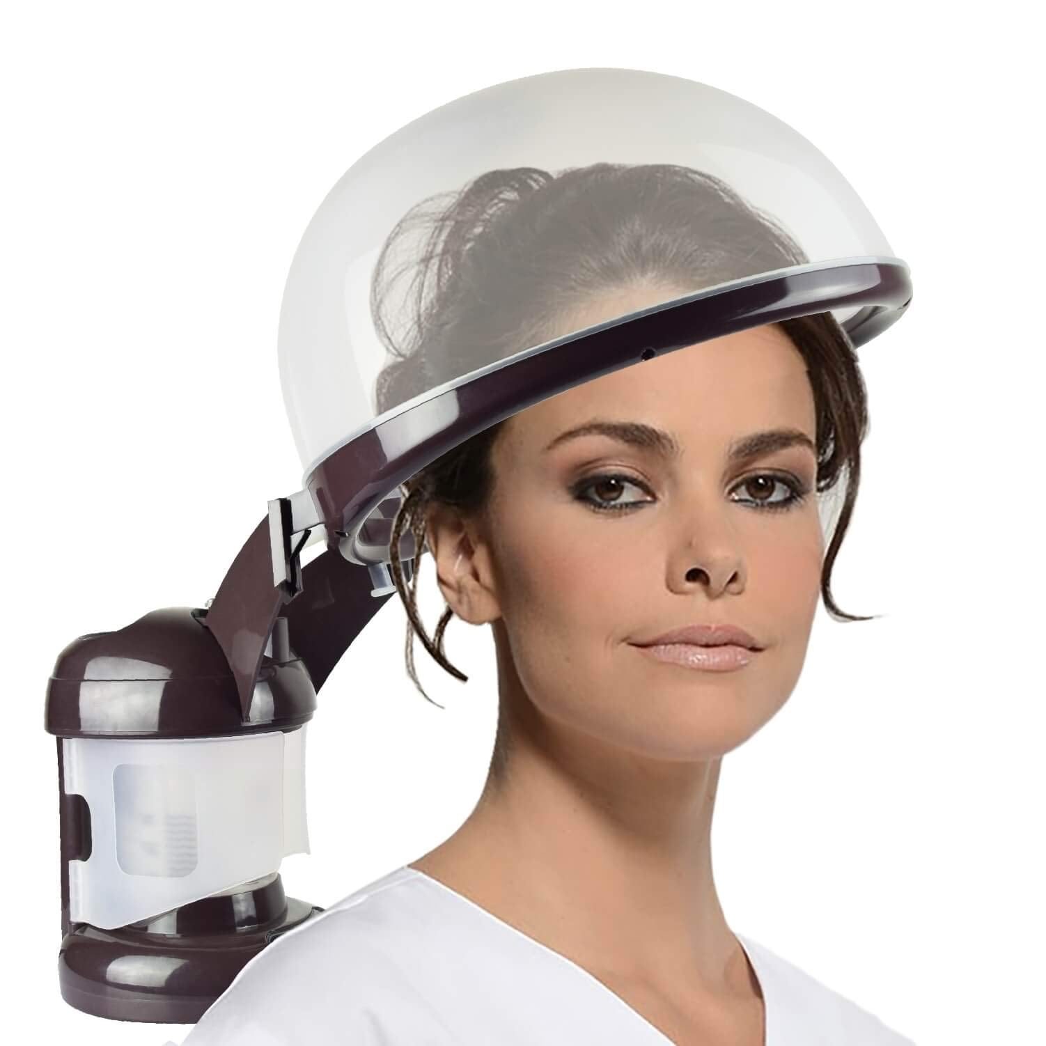 Hair Steamer Kingsteam 2 in 1 Ozone Facial Steamer, Design for Personal Care Use At Home or Salon (Coffee) - mroutfit