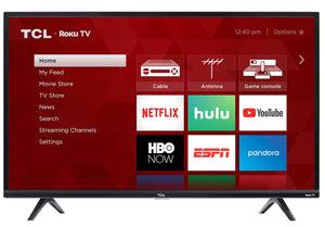 TCL 32S325 32 Inch 720p Roku Smart LED TV (2019) - mroutfit