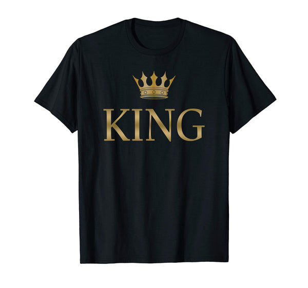 King Gold Crown T-Shirt - mroutfit