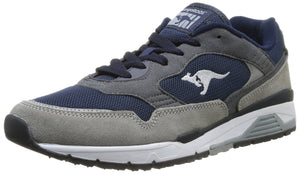 KangaROOS Ultimate 3, Mens Trainers, Grey (Mid Grey/Dk Navy 242), 9.5 UK (43 EU) - mroutfit