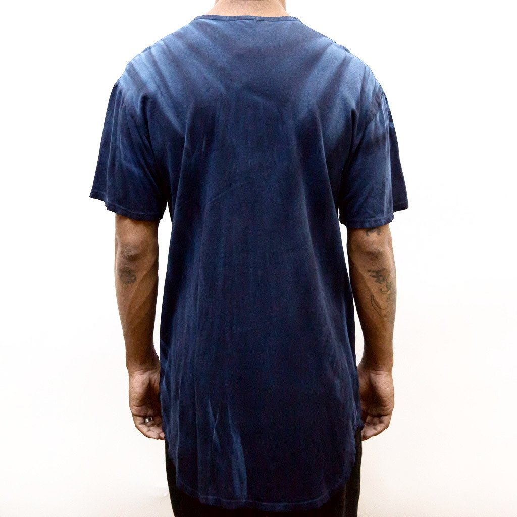 RIVER WASH TEE- BLUE - mroutfit