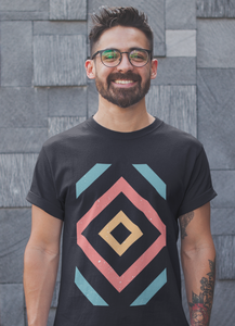 Geometric Design T-shirt - mroutfit