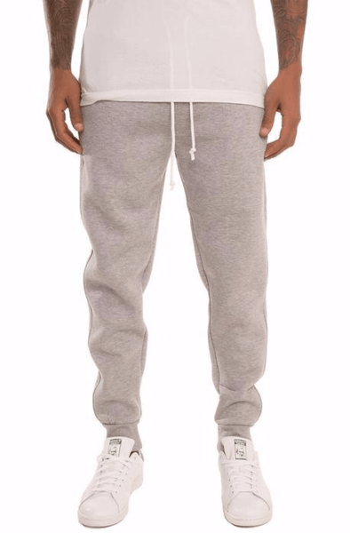 Simply Butter Sweat Joggers (Heather Grey) - mroutfit