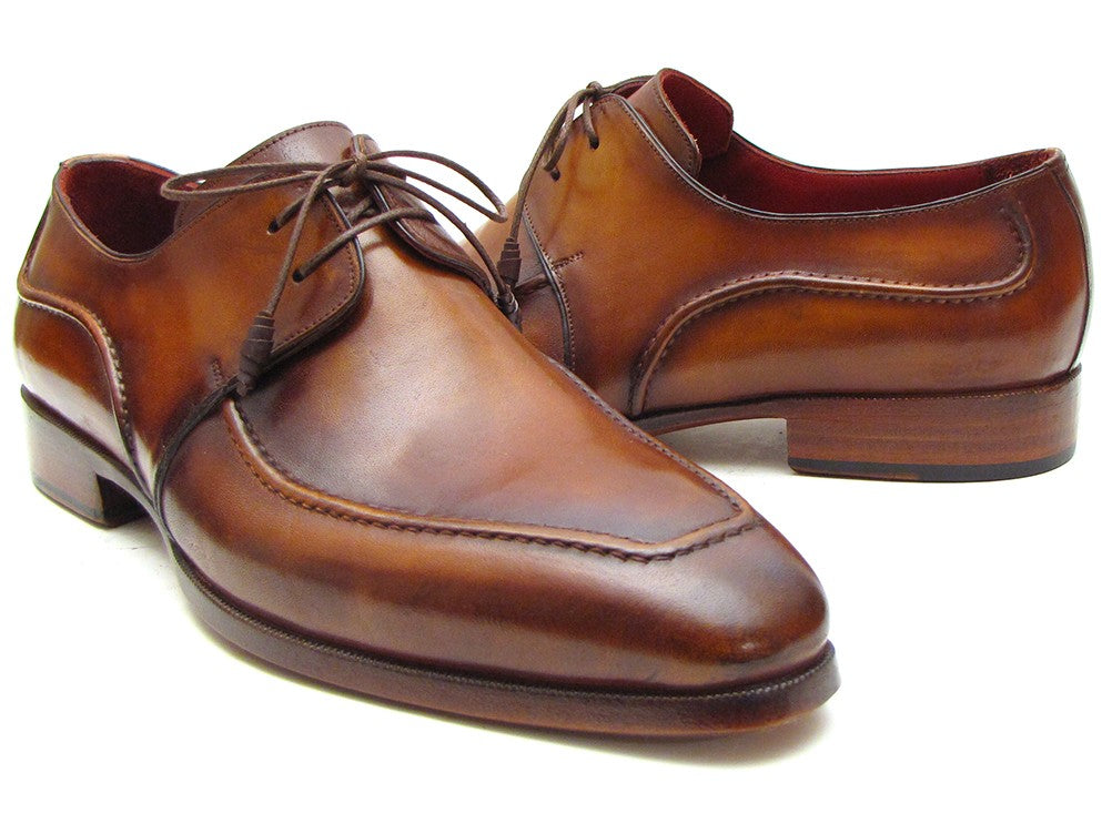 Paul Parkman Brown Derby Dress Shoes For Men (ID#SU12LF) - mroutfit