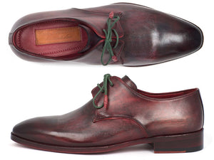 Paul Parkman Men's Mixed Color Derby Shoes (ID#DB59MX) - mroutfit