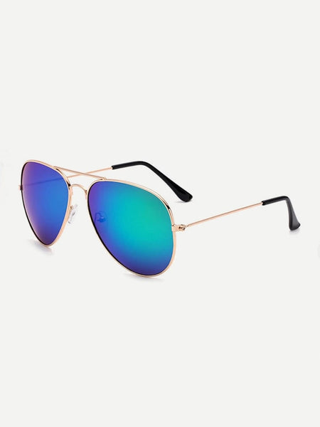 Top Bar Aviator Sunglasses - mroutfit