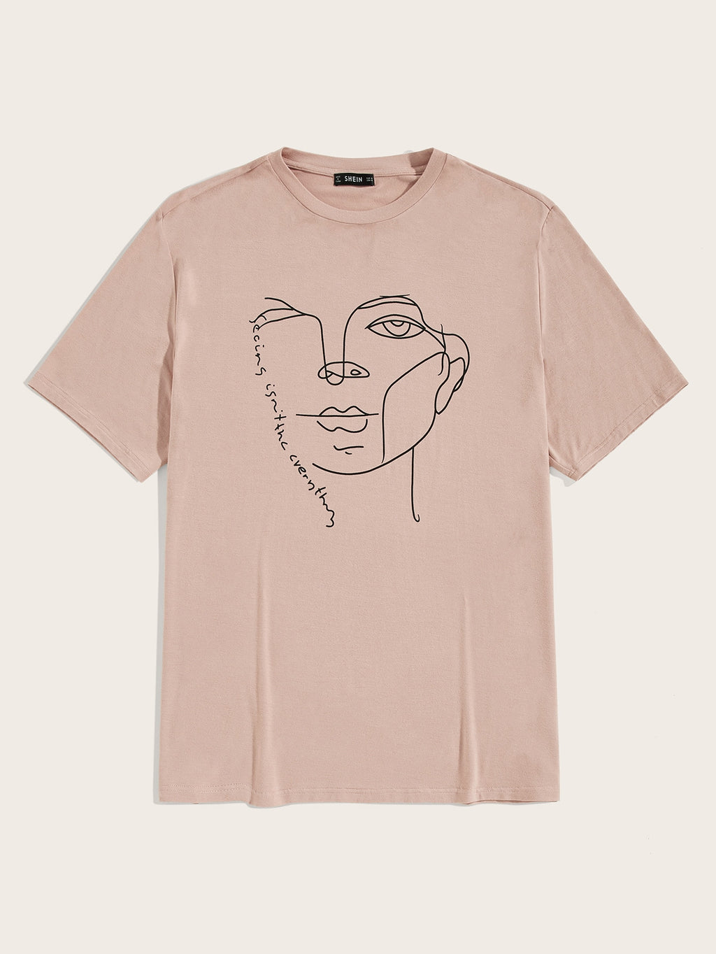 Men Figure Print Tee - mroutfit