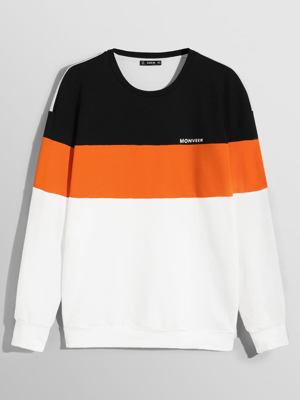 Color Block Pullover - mroutfit