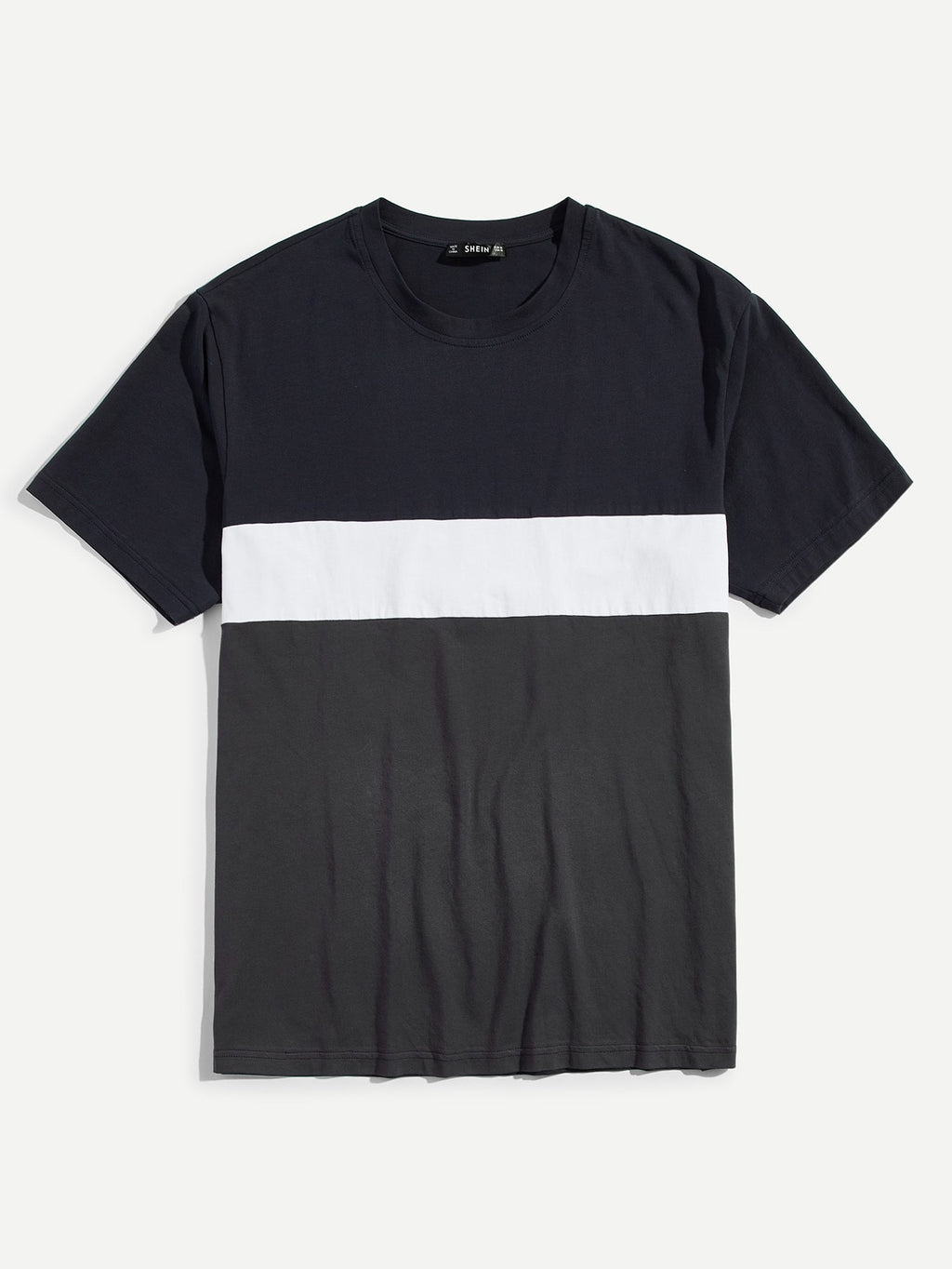 Men Cut and Sew T-shirt - mroutfit