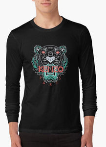 Kenzo Paris BLACK FULL SLEEVES T-SHIRT - mroutfit