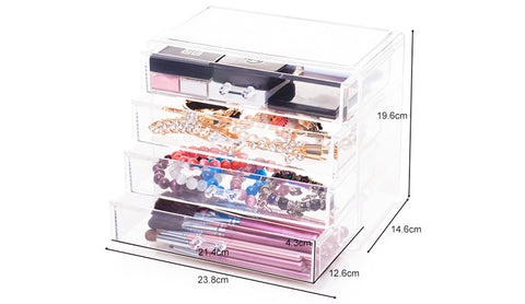cheap affordable makeup beauty cosmetic acrylic organizer