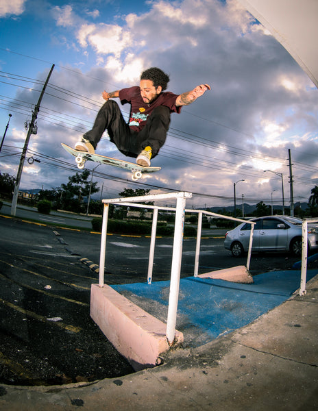 Manny Rodriguez-Bump to bar ollie