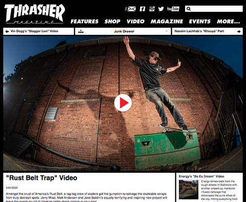Rust Belt Trap on Thrasher
