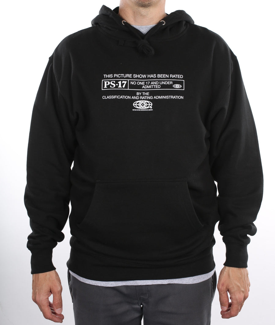 Picture Show PS-17 Hoodie Black On Model