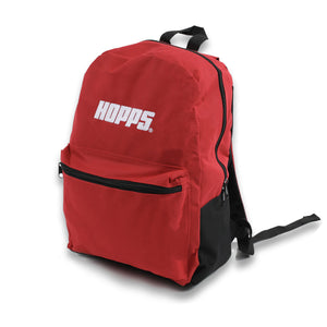 "Hopps ""Big Hopps"" Backpack Red front"