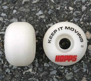 Hopps Skateboards Keep it Moving Performance Wheels 52mm