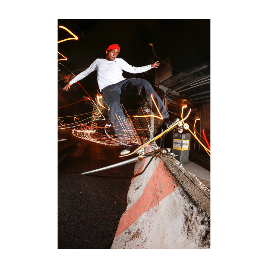 Jahmal Williams Polejam 5050 Transfer Print