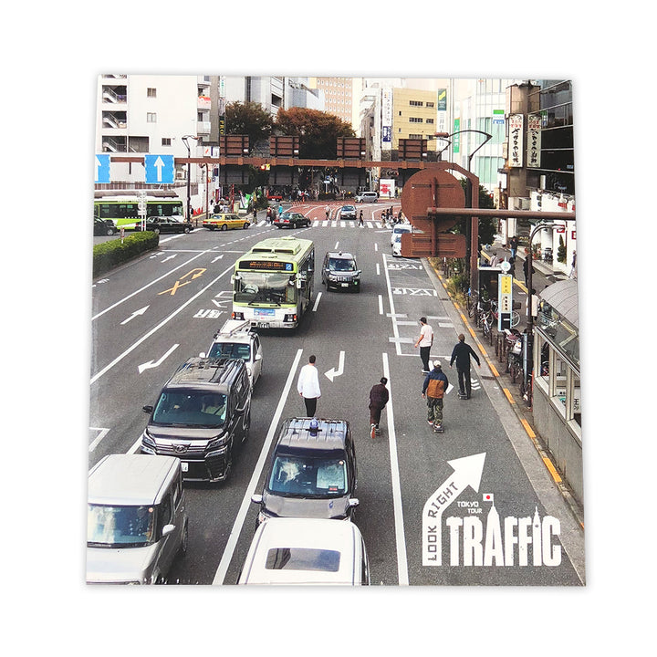 Traffic Skateboards Look Right Japan Tour DVD